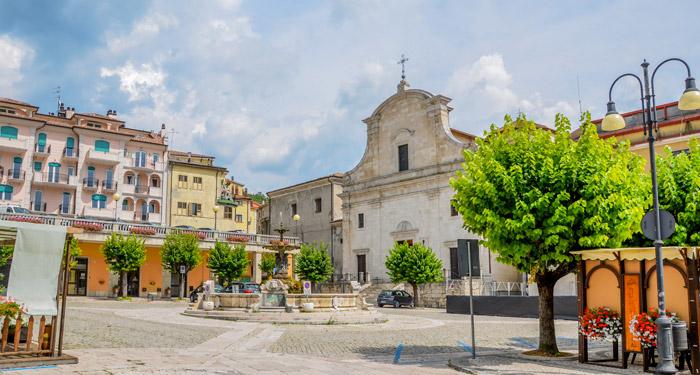 Piazza Plebiscito - Castel di Sangro