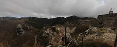 Panorama dalla Rocca di Cervara