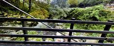 Ponticello sul fiume Aniene