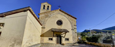 Chiesa di San Lorenzo - luogo di nascita della Città di Subiaco