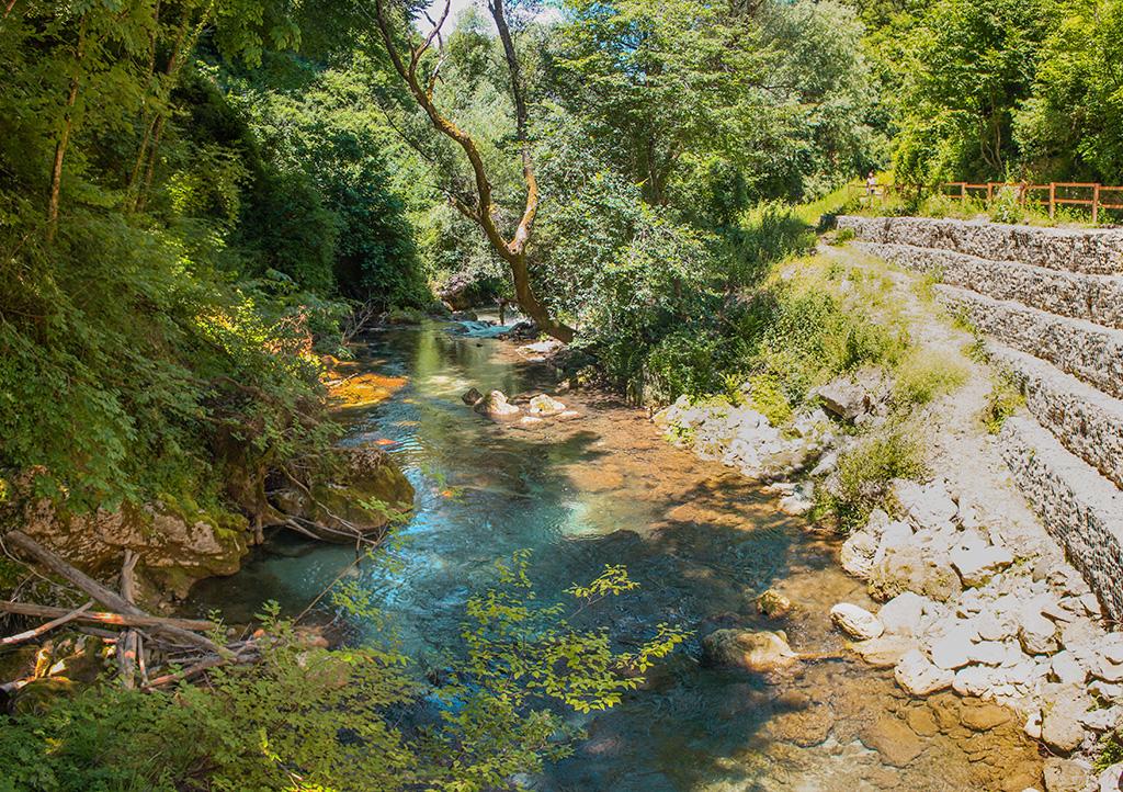 Il Fiume Aniene - Subiaco