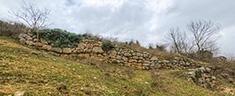 Mura Megalitiche in opera poligonale – Località Carraccio