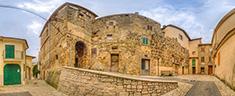 Piazza degli Angeli – Mura megalitiche in opera quadrata
