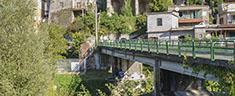 Resti del ponte dell'acquedotto Claudio