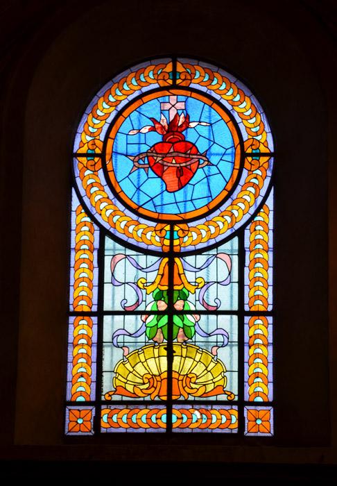 TABLEAU POÉTIQUE DES SACREMENTS EN GÉNÉRAL.  Vicomte Walsh – 1852 Vetrata_decorata